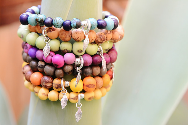 100% Hand made Acai Berry Beads