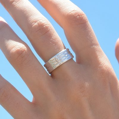 Hand Crafted Sterling Silver Ring