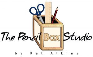 Logo for The Pencil Box Studio